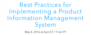 Best Practices for Implementing a PIM System