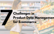 Top 7 Challenges in Product Data Management for Ecommerce