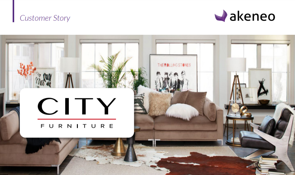City furniture using Akeneo PIM - Striketru
