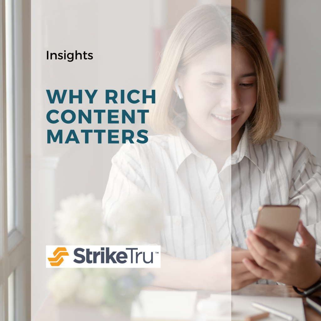Why Rich Content Matters For Any Ecommerce Platform - Striketru
